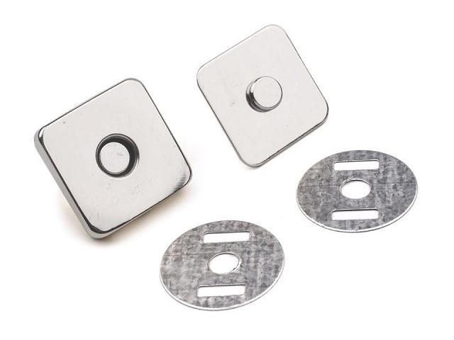 Magnetischer Verschluss 18x18 mm rechteckig