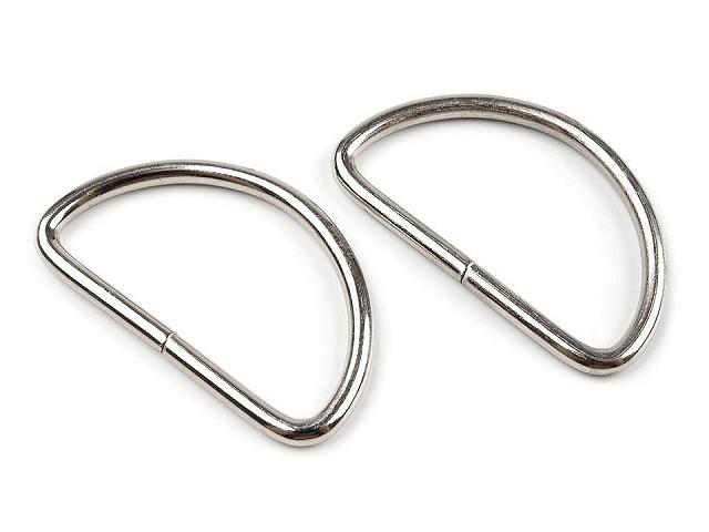 Halbringe Breite 38 mm für Lederware