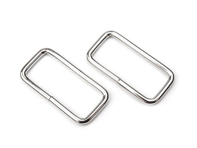 Schlaufe vierkantig / Taschenschlaufen Breite 32 mm für Lederware