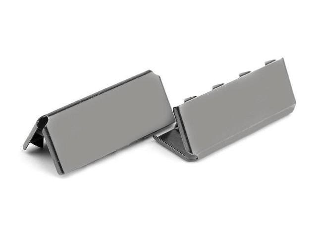 Kovová koncovka šíře 25 mm