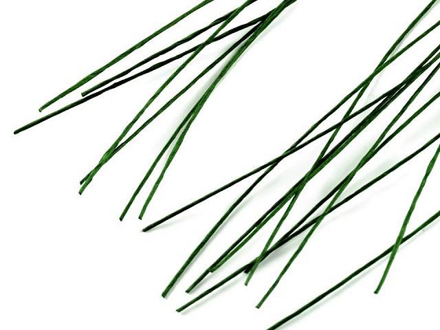 Sârmă flori verde, Ø0,6 mm, lungime 40 cm