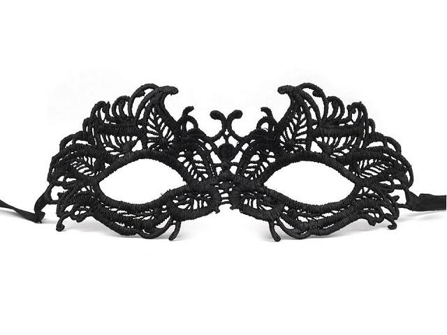 Karnevalová maska - škraboška krajková