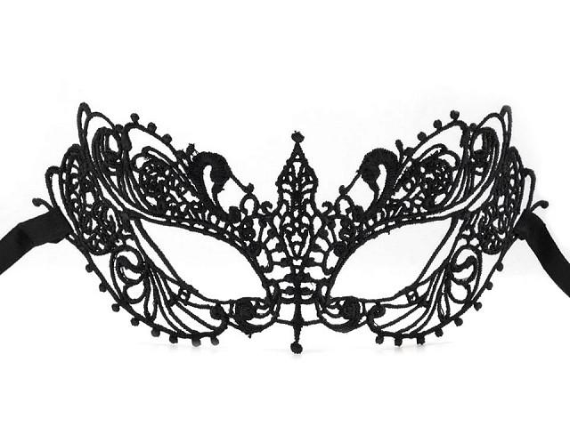 Mască de carnaval din dantelă