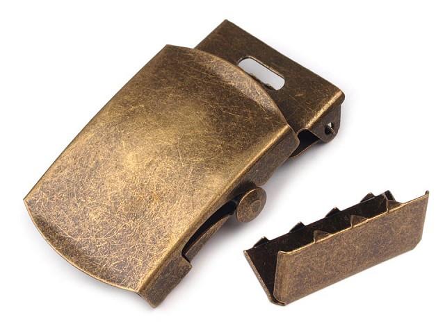 Kovová spona 30 mm na opasok s koncovkou
