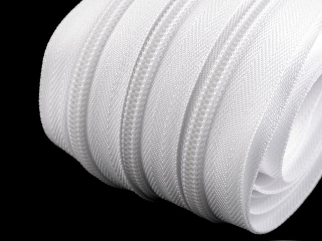 Fermoar spiralat metraj, lățime spirală 7 mm