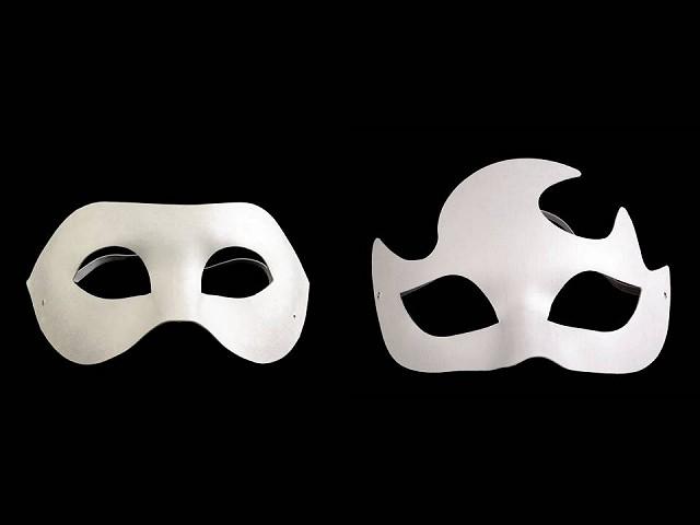 Augenmaske zum Bemalen
