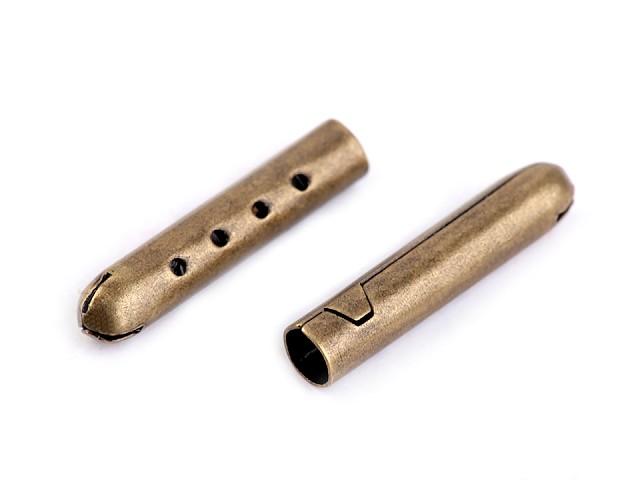 Terminație metalică pentru șnur, 4,5x22 mm