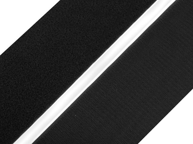 Suchý zips háčik + plyš samolepiaci šírka 80 mm