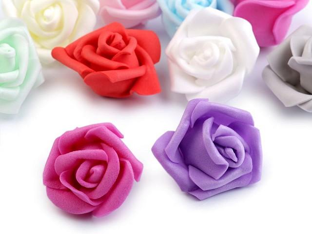 Habszivacs dekorációs rózsa Ø4 cm