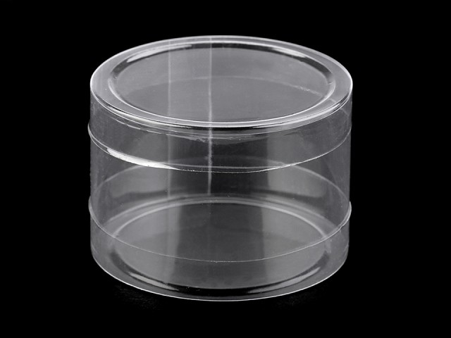 Plastová krabička / dóza Ø74 mm