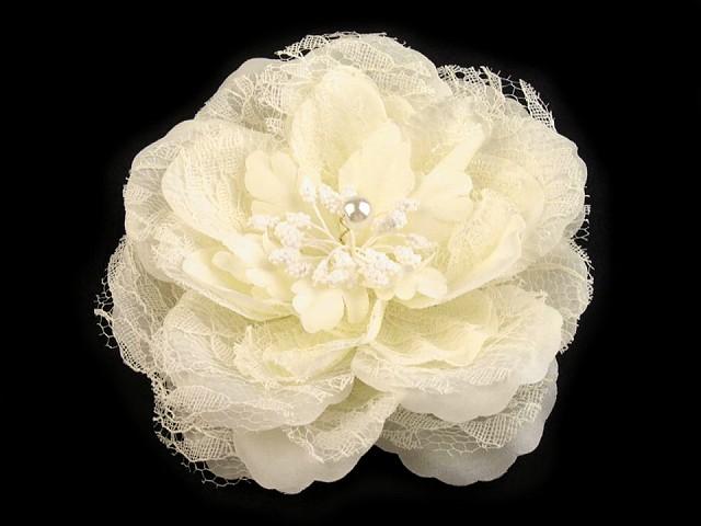 Brošňa / ozdoba ruža  Ø11 cm