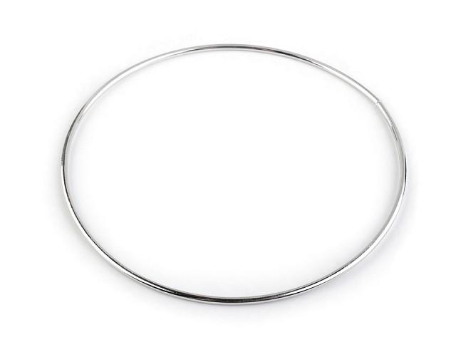 Kovový kruh na lapač snov / na dekorovanie Ø15 cm