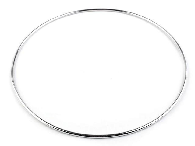 Kovový kruh na lapač snov / na dekorovanie Ø20 cm