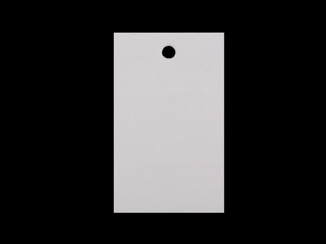Papírová visačka / jmenovka 30x50 mm