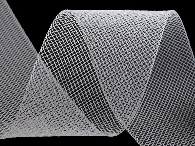 Modistická krinolína na vystuženie šiat a výrobu fascinátorov  šírka 5 cm