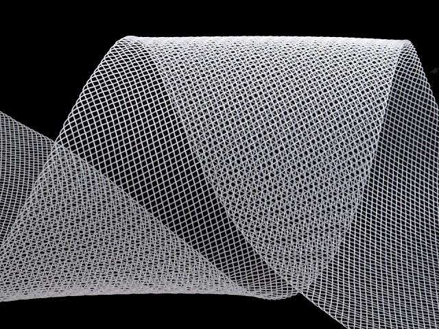 Modistická krinolína na vystuženie šiat a výrobu fascinátorov šírka 10 cm