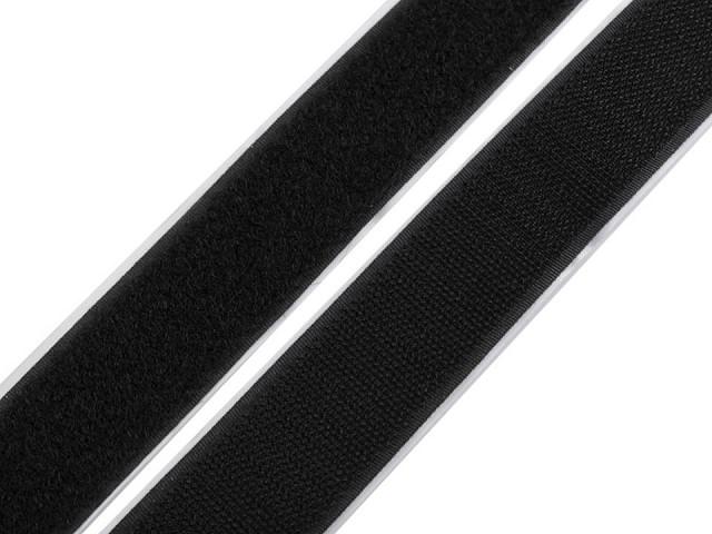 Suchý zips háčik + plyš samolepiaci šírka 30 mm