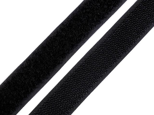 Suchý zips háčik + plyš šírka 20 mm
