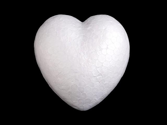 Srdce Ø8 cm polystyrén