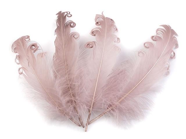 Husí peří kudrnaté délka 12-18 cm