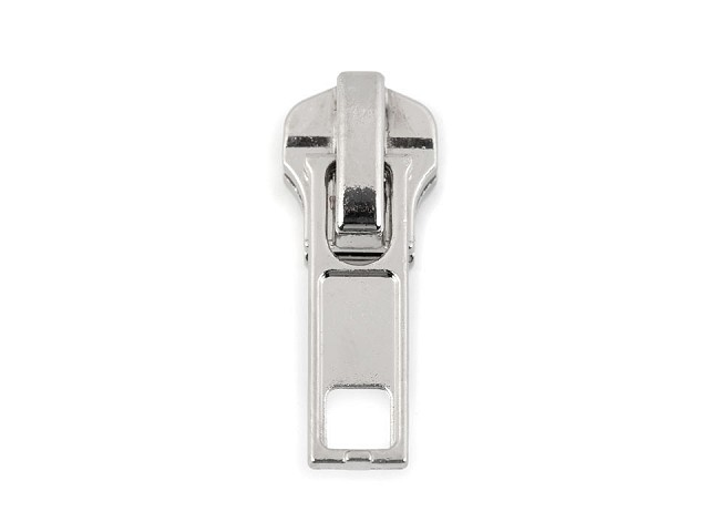 Bežec na kovový zips šírka 5 mm