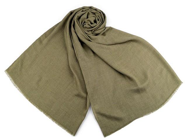 Šátek / šála jednobarevná 85x180 cm