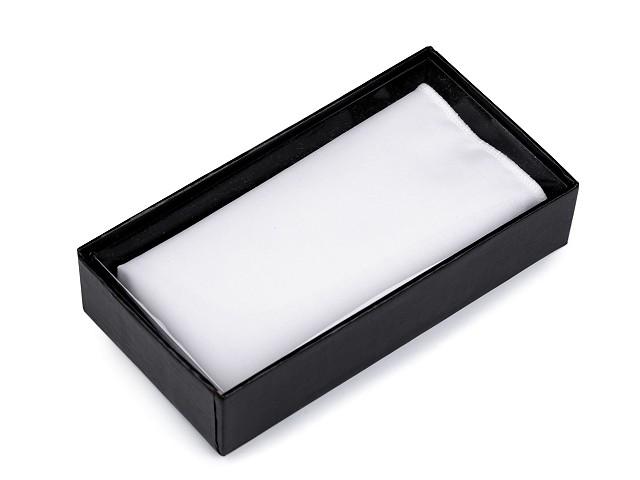 Bavlnená vreckovka do saka v krabičke