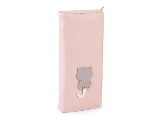 Dámska / dievčenská peňaženka mačka 8,5x18 cm