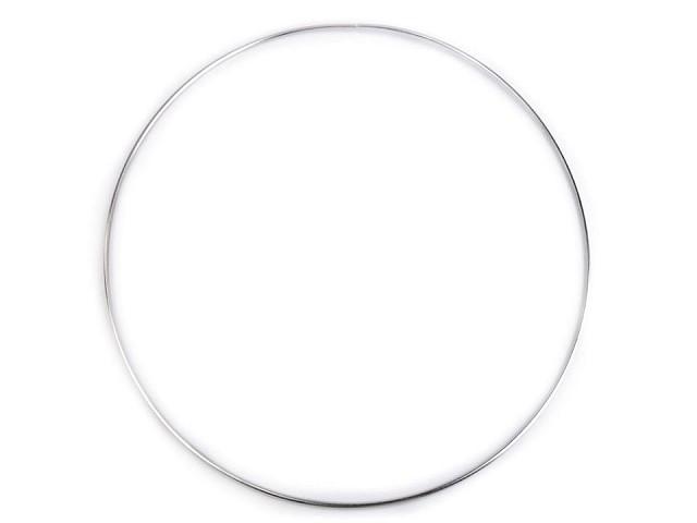 Kovový kruh na lapač snů / k dekorování Ø30 cm