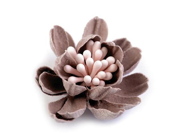 Květ 3D s pestíky v barvě květu Ø33 mm
