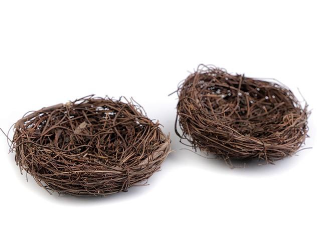 Proutěné hnízdo Ø8 cm