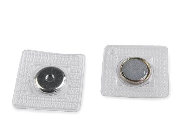 Rejtett mágnes kapocs felvarrásra Ø15 mm