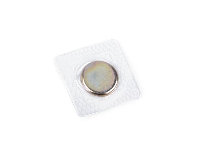 Rejtett mágneskapocs felvarrható Ø19 mm