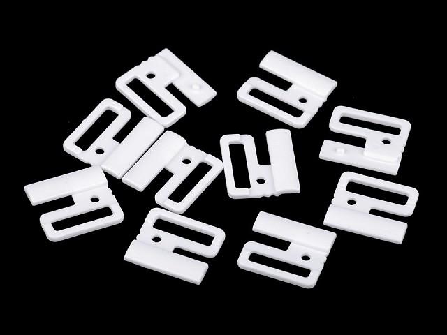 Zapínání plavkové šíře 20 mm plastové