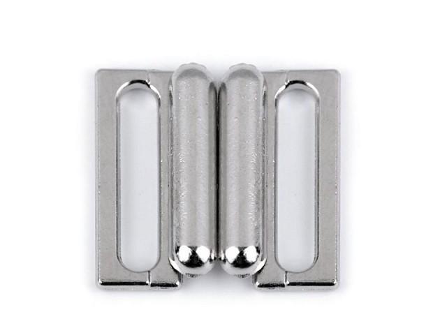 Plavkové zapínání šíře 14 mm kovové