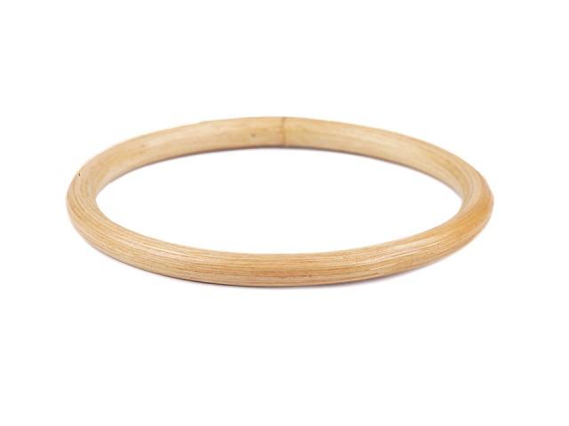 Bambusová ucha na tašky / lapač snů Ø12 cm