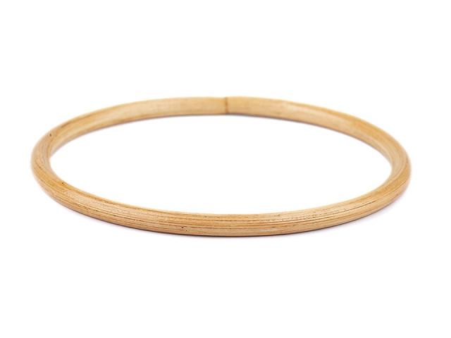 Bambusová ucha na tašky / lapač snů Ø15 cm