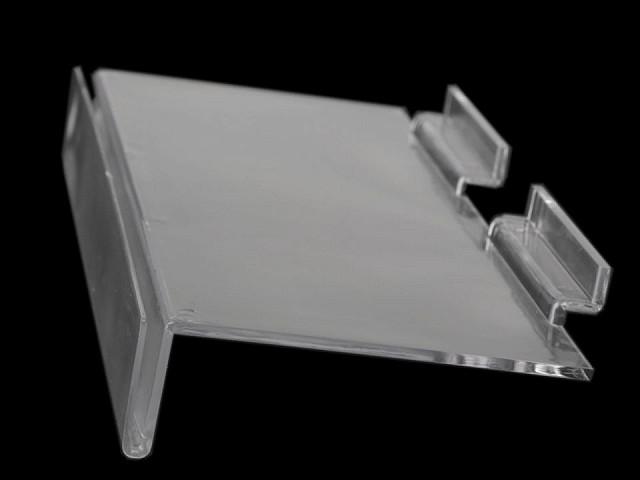 Raft panou slatwall, 11,5x25 cm