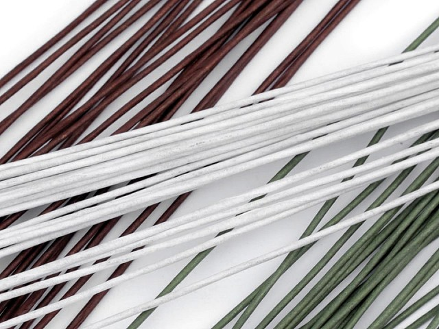 Floristický drát Ø1,3 mm délka 40 cm
