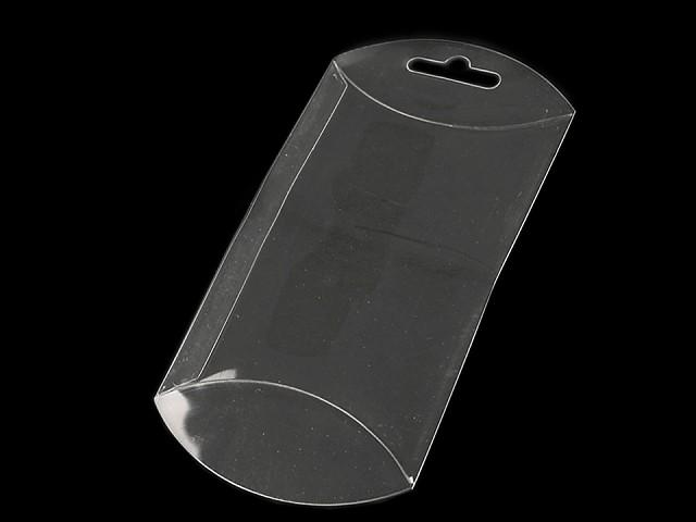 Plastová krabička k zavěšení 7x12 cm