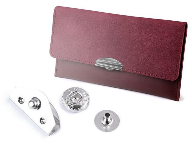 Zapínanie na peňaženky / boxy 10x20 mm