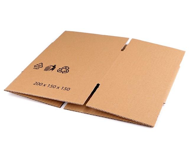 Kartónová krabica 20x15x15 cm