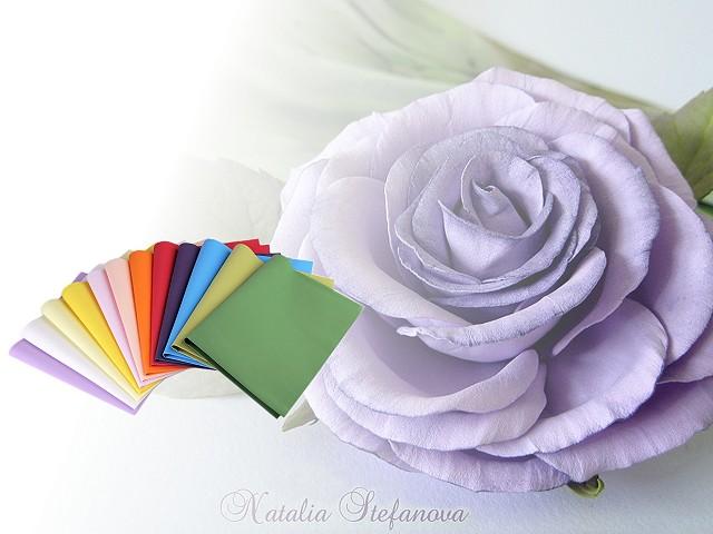 Pěnová guma Foamiran k výrobě květů 60x70 cm