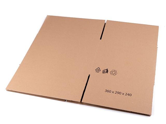 Kartónová krabica 36x29x24 cm