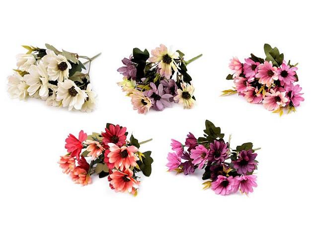 Umelá kytica chryzantéma