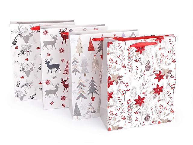 Dárková taška vánoční, střední velikost