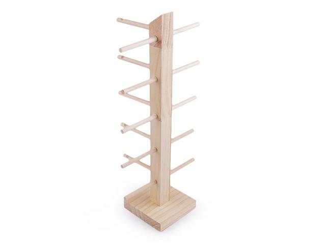 Drevený stojan na náramky / okuliare 37 cm