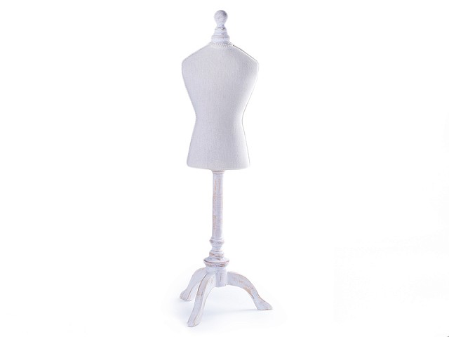 Dekorační / výstavní krejčovská panna 67 cm