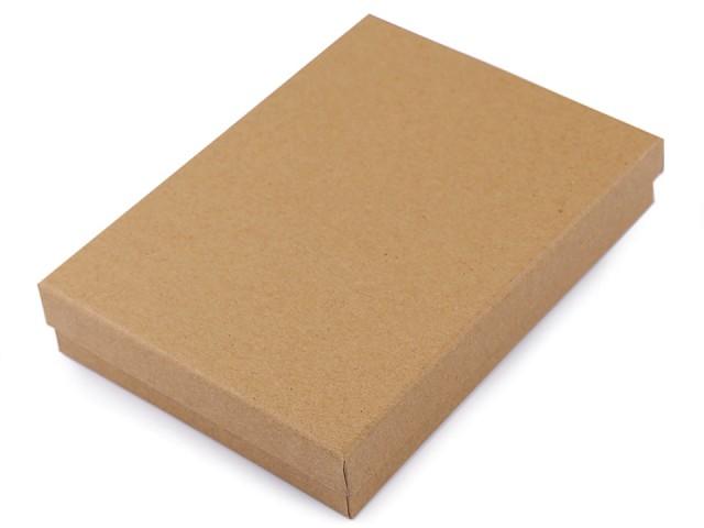 Geschenkschachtel für Schmuck natural 12x16 cm