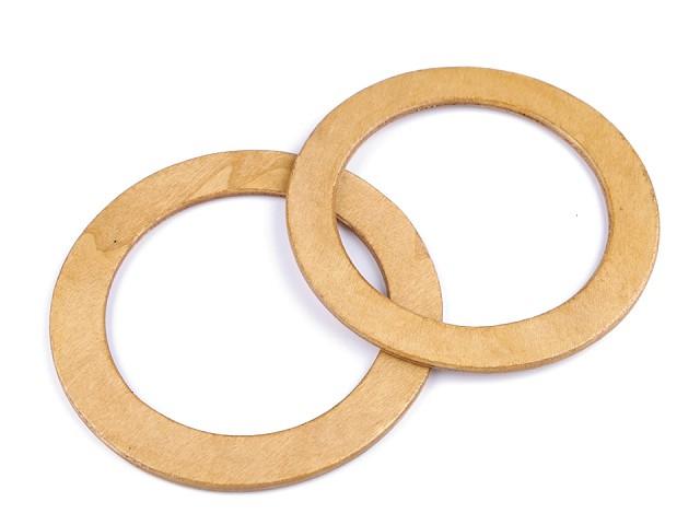 Drevené rúčky na tašky Ø14 cm